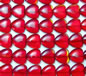 Flame Red Glass Hearts - 13.5mm